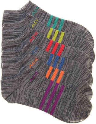 adidas Superlite Marled No Show Socks - 6 Pack - Women's