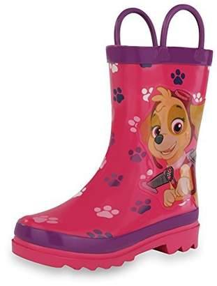 Nickelodeon Paw Patrol Girl's Rain Boots - Size 8 Toddler