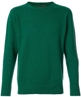 The Elder Statesman crew neck jumper