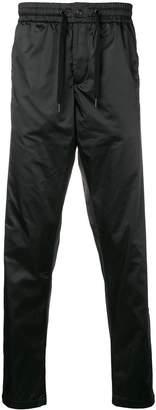 Karl Lagerfeld Paris nylon drawstring trousers