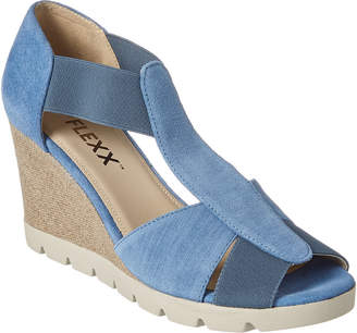 The Flexx Lotto Suede Wedge Sandal