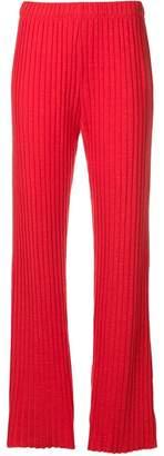 Simon Miller rib knit wide leg trousers