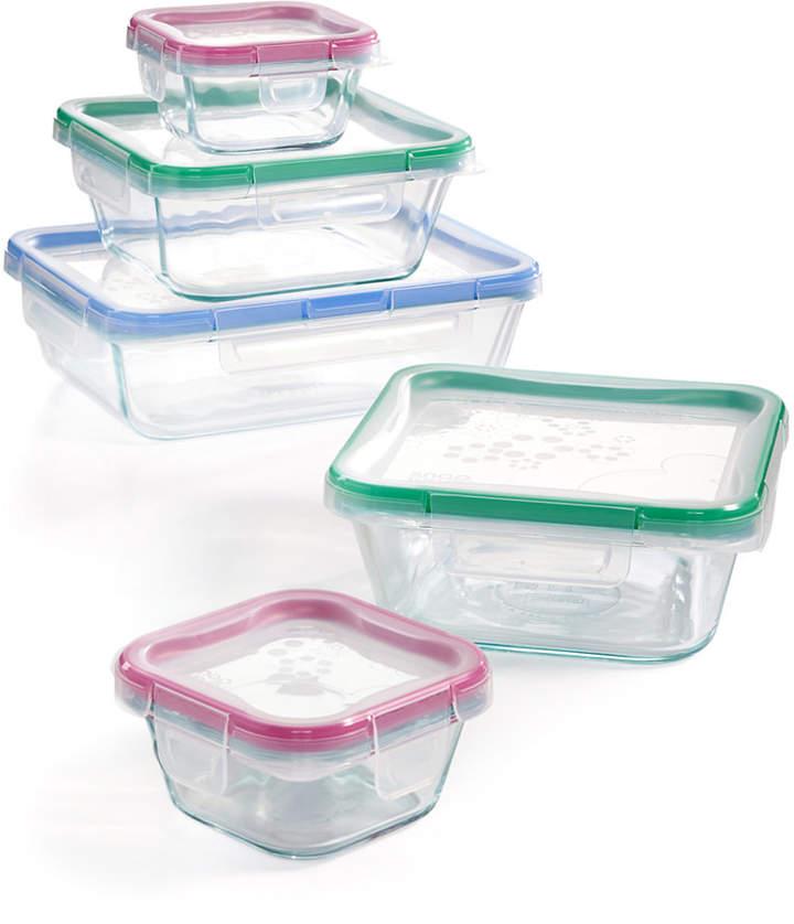 Snapware 10-Pc. Glassware Set