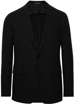 Ralph Lauren Purple Label Slim-Fit Wool-Crepe Blazer