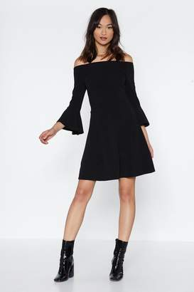 Nasty Gal And She's Off-the-Shoulder Mini Dress