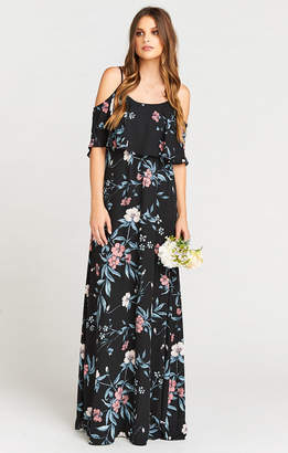 Show Me Your Mumu Caitlin Ruffle Maxi Dress ~ GWSXMumu Wedding Soiree