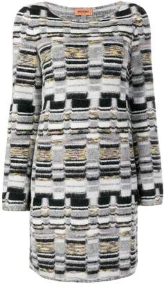 Missoni geometric knit dress
