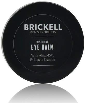 Brickell Men's Products Restoring Eye Balm, .5 oz./ 14 mL