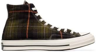 Converse Chuck 70 Classic Hi-Top Plaid Sneakers
