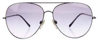 Burberry Oversize Aviator Sunglasses