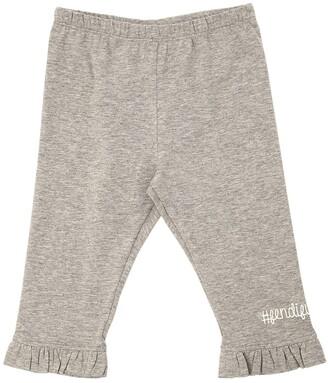 Fendi Cotton Jersey Sweatpants