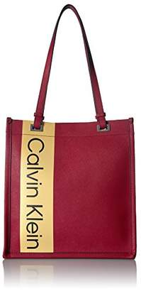 Calvin Klein Franzy Saffiano North/South Tote
