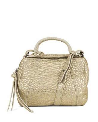 Kooba Turner Bubble Micro Duffel Bag, Gold $175 thestylecure.com