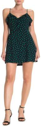 Lush Ruffled Fit & Flare Mini Dress