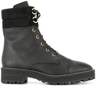 Stuart Weitzman lace-up ankle boots