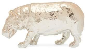 Haoshi Gold Hippo Paperweight