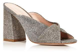 Loeffler Randall Women's Laurel Knotted Glitter High-Heel Sandals