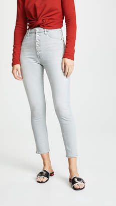 Citizens of Humanity Olivia Exposed Fly High Rise Ankle Jeans