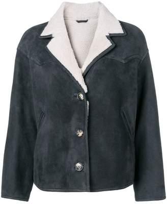 Etoile Isabel Marant shearling lined jacket