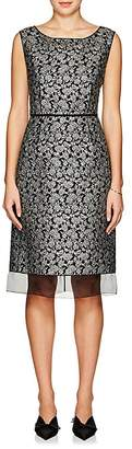 Marc Jacobs WOMEN'S FLORAL BROCADE SLEEVELESS SHEATH DRESS