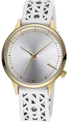 Komono Women's KOM-W2652 Estelle Cutout Analog Display Japanese Quartz Watch