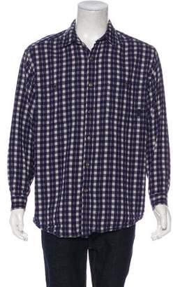 Patagonia Gingham Button-Up Shirt