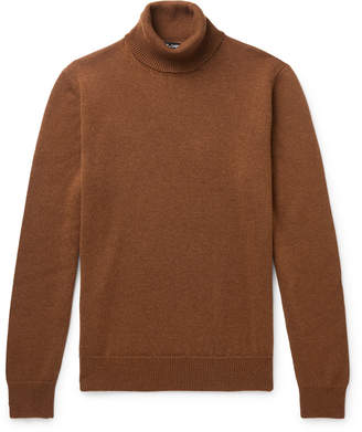 Dolce & Gabbana Cashmere Rollneck Sweater - Men - Brown
