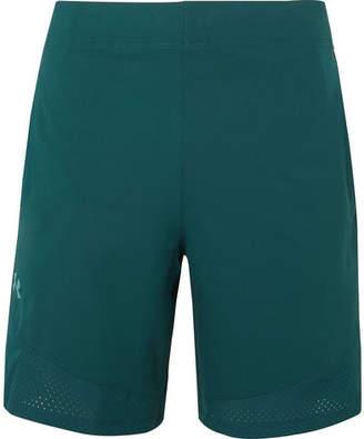 Vanish Wide-Leg Shell Shorts