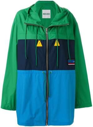 Kenzo oversized rain jacket