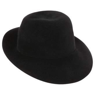 Roberto Cavalli Black Wool Hats