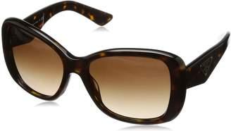 Prada Women's Gradient PR32PS-2AU6S1-57 Square Sunglasses