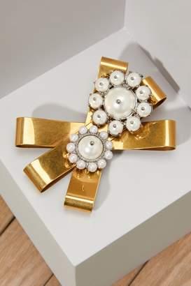 Miu Miu Pearls brooch