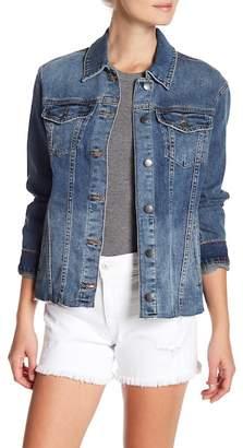 Joe's Jeans Ashley Raw Hem Denim Jacket