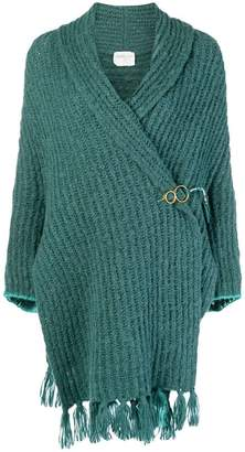 Forte Forte wrap front knitted cardigan