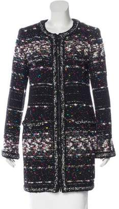 Chanel Lesage Glitter Tweed Coat