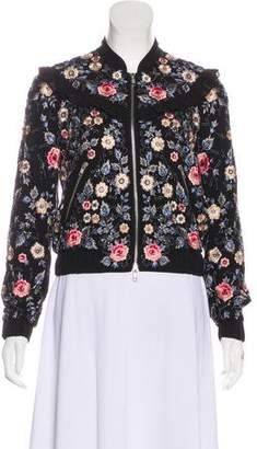 Needle & Thread Embellished Floral Blouson