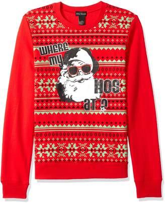 Alex Stevens Men's Where My Hosugly Christmas Sweater