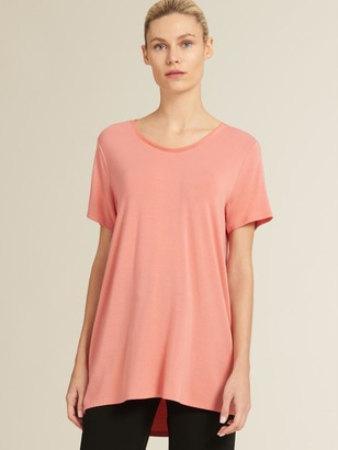 DKNY Jersey Scoop Neck Top