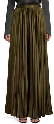 AMUR Annie Accordion Pleated Maxi Skirt