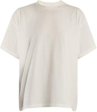 MM6 MAISON MARGIELA Back-overlay cotton-jersey T-shirt