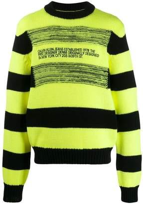 Calvin Klein Jeans Est. 1978 striped jumper
