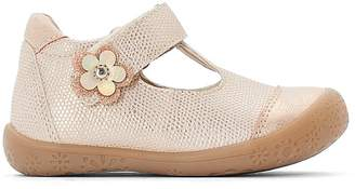 La Redoute COLLECTIONS Touch 'n' Close Ballet Pumps with Daisy Detail