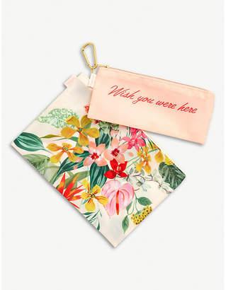 PARADISO NONE nylon carry pouches set of two