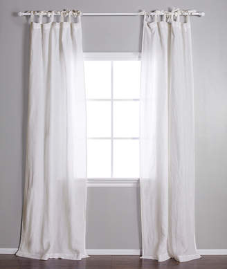 Lulu & Georgia Pom Pom at Home Tie-Top Curtain