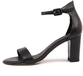 Mollini Gessie Black Sandals Womens Shoes Dress Heeled Sandals
