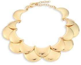 Lele Sadoughi Golden Cove Bib Necklace