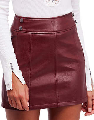 Free People Retro Bodycon Mini Skirt