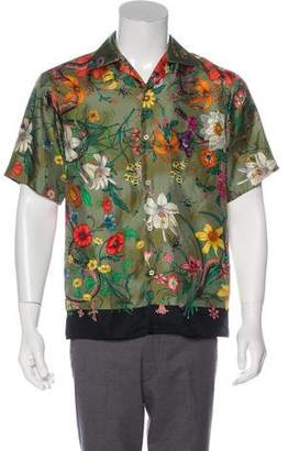 c869d58ebcb Gucci Green Men s Shortsleeve Shirts - ShopStyle