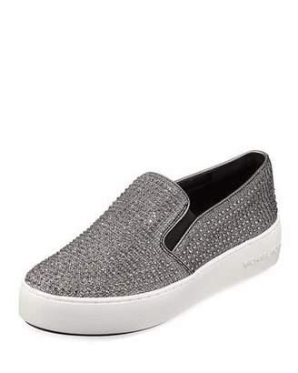 MICHAEL Michael Kors Trend Glitter Mesh Slip-On Sneakers