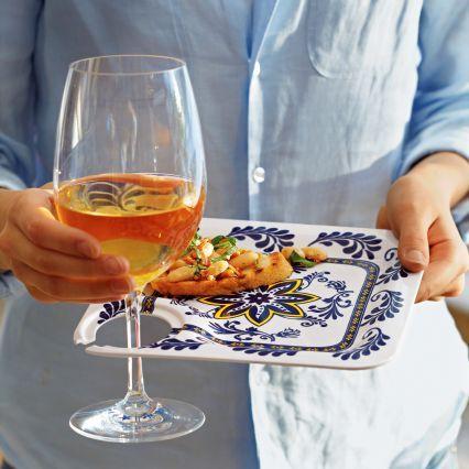 Sur La Table Tim Love Wine Glasses, Set of 4